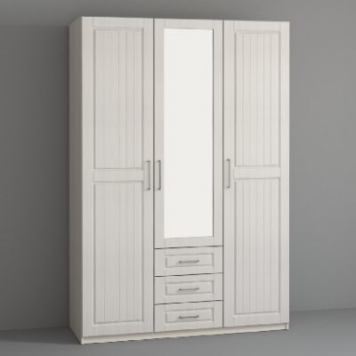 «Кэт-6 Кантри» Шкаф 3-х створчатый (дл)