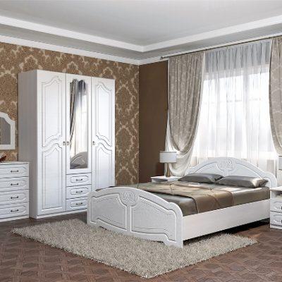 Спальня «Кэт-6 Классика» композиция 1 (дл)
