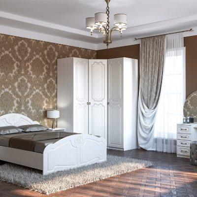 Спальня «Кэт-6 Классика» композиция 3 (дл)