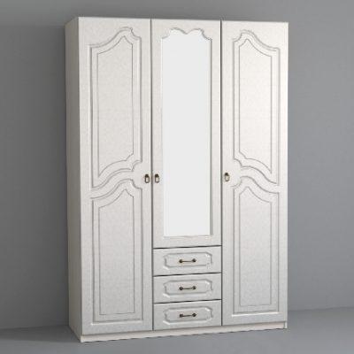 «Кэт-6 Классика» Шкаф 3-х створчатый (дл)