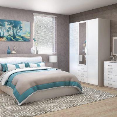 Спальня «Кэт-6 ЛДСП» композиция 1 (дл)
