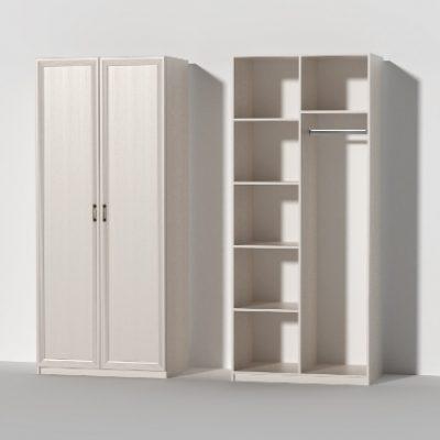 «Кэт-6 Рамка» Шкаф 2-х створчатый (дл)