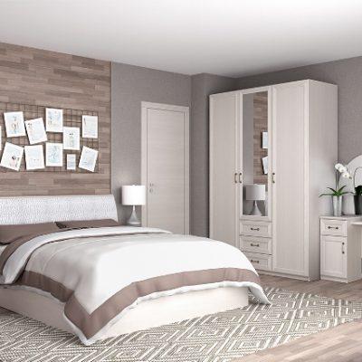 Спальня «Кэт-6 Рамка» композиция 1 (дл)