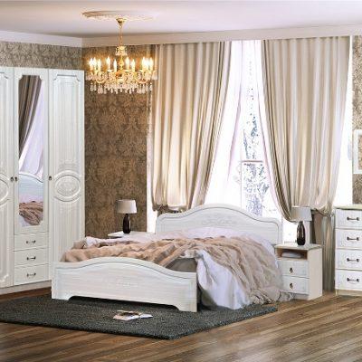 Спальня «Кэт-6» композиция 1 (дл)
