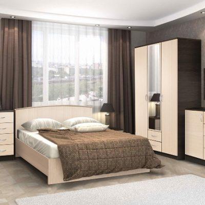 Спальня «Кэт-7» композиция 1 (дл)