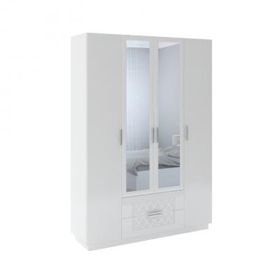 «Тиффани» М28 Шкаф с ящиками (4 двери) (рн)