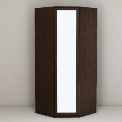 «Кэт-4» Шкаф угловой с зеркалом (дл)