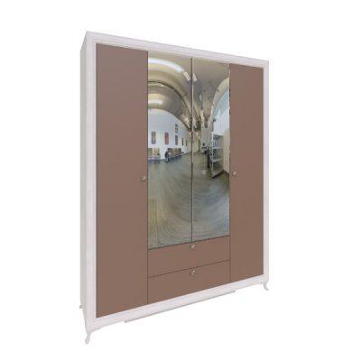 «Саванна» М01 Шкаф 4-х створчатый (рн)