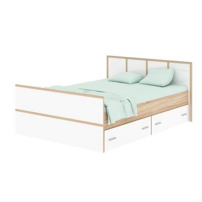 «Сакура» Кровать с ящиками (п)