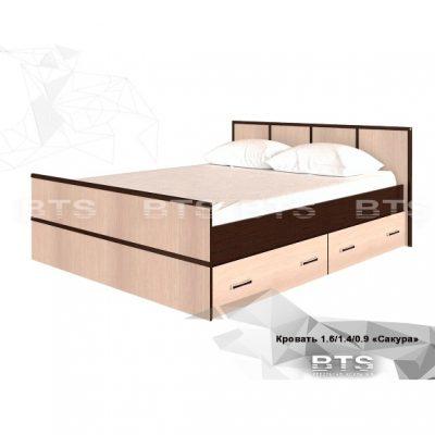 «Сакура» Кровать (б)