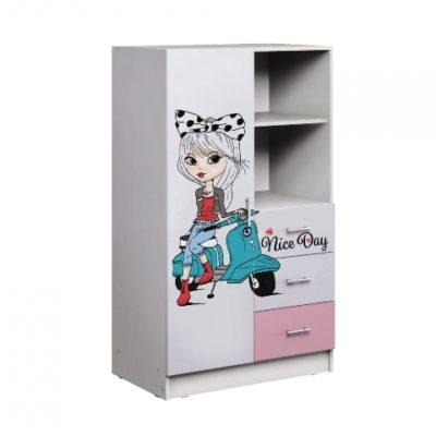 «Вега Fashion-1» Шкаф комбинированный (м)