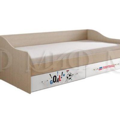 «Вега NEW boy» Кровать с ящиками (м)