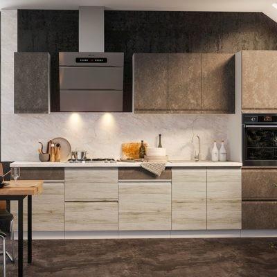 Кухонный гарнитур 3,2 м «Бруклин» комбинированная (иц)