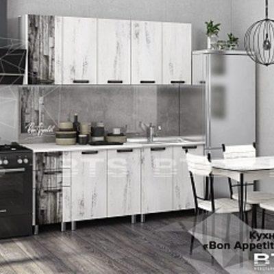 Кухня «Bon Appetit» дуб винтаж 2.0 м. (б)