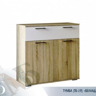«Белладжио» Комод ТБ-19 (б)